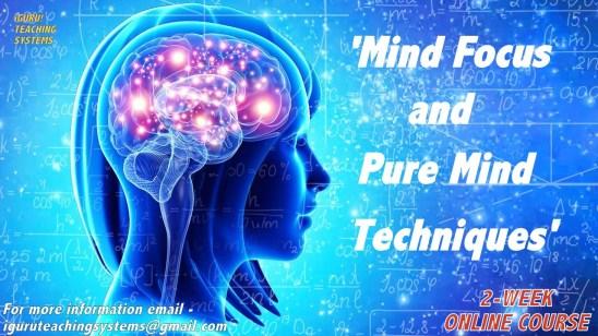 iGURU! - Mind Focus & Pure Mind Techniques